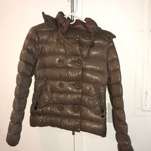 Moncler authentic size 1 taupe jacket e114d2eaa4